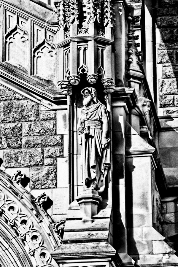 St. Someone - monochrome conversion.