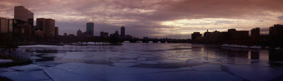 Ice on the Charles