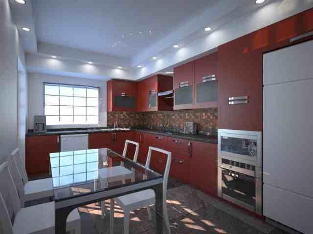 kitchen designing, interior designing hoshiarpur