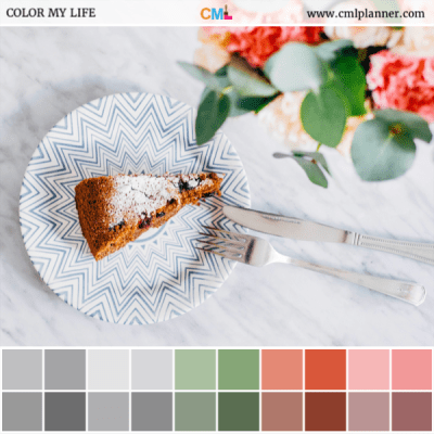 Sweet Dessert - Color Inspiration from Color My Life