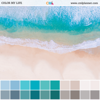 Shoreline - Color Inspiration from Color My Life