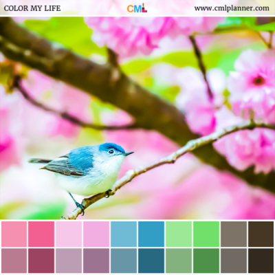 Spring Song - Color Inspiration from Color My Life