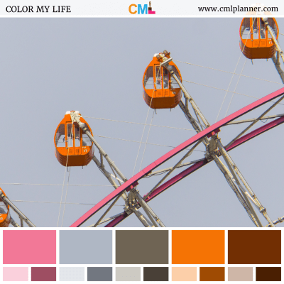 Ferris Wheel - Color Inspiration from Color My Life