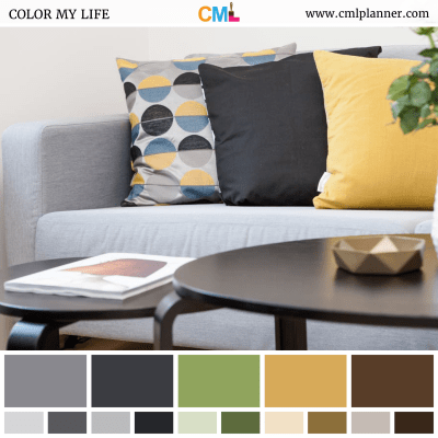 Modern Chroma - Color Inspiration from Color My Life