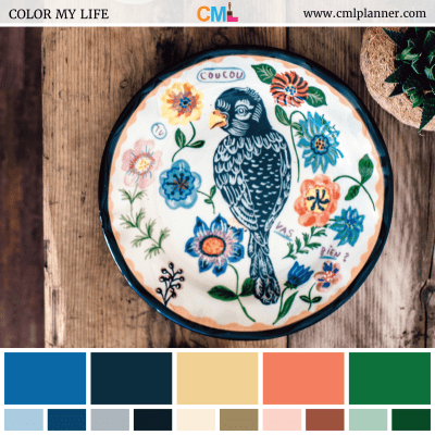 Color Stitch - Color Inspiration from Color My Life