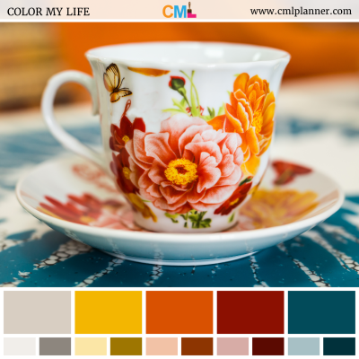Tea Party - Color Inspiration from Color My Life