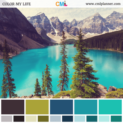 Lakeside Oasis - Color Inspiration from Color My Life