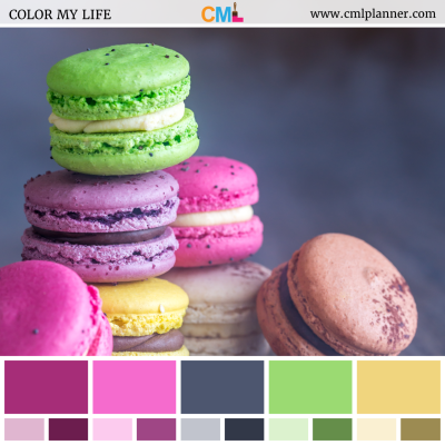 Colorful Cookies - Color Inspiration from Color My Life