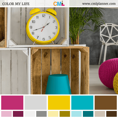 Timely Decor - Color Inspiration from Color My Life