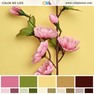 Floral Faux - Color Inspiration from Color My Life