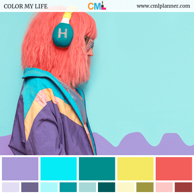 Color Palette #090118 - Color Inspiration from Color My Life