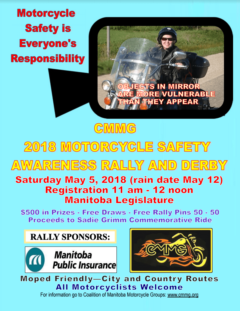 CMMG 2018 Motorcycle Safety Rally & Derby