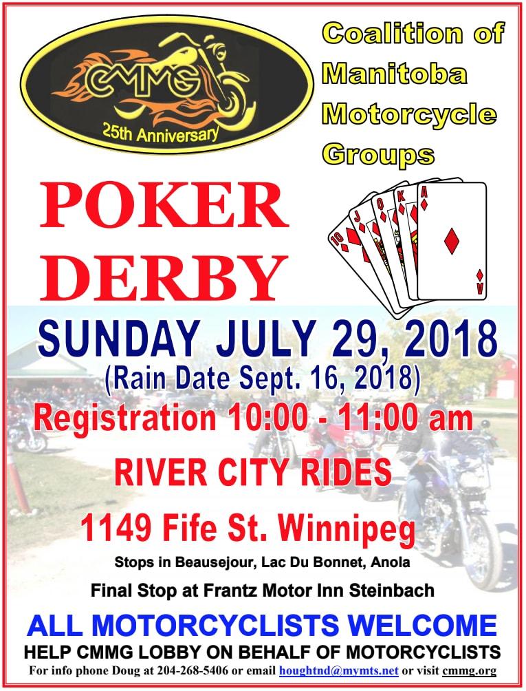 CMMG 2018 Poker Derby
