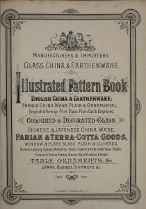 19th century Silber and Fleming glass trade catalog. Bib. #89888