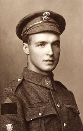 Photo of Private Sidney Halliday