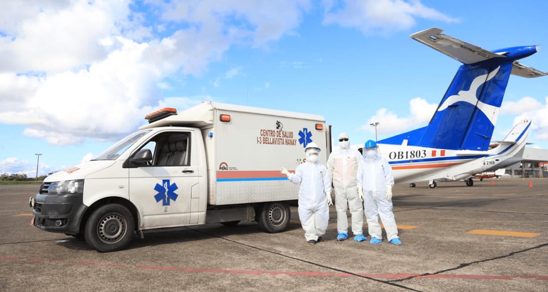 CMP TRASLADA A LA CIUDAD DE LIMA A MÉDICOS CONTAGIADOS CON COVID -19