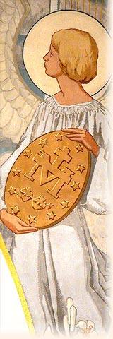 Risultati immagini per l'angelo della medaglia miracolosa