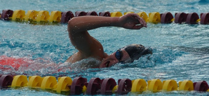 Mia Syme Dominates 1650 on Final Day of SCIAC Championships, Athenas Finish Close Second