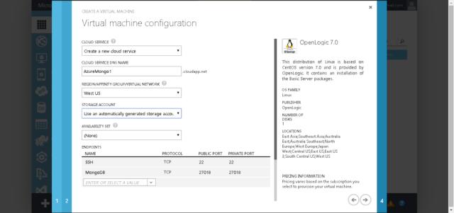 Sitecore xDB on Azure CentOS Settings