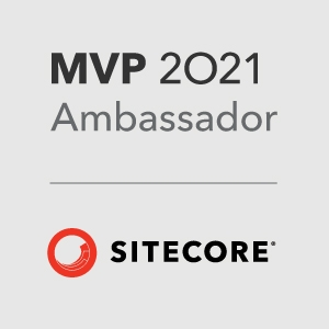 Vasiliy Fomichev Sitecore MVP 2021