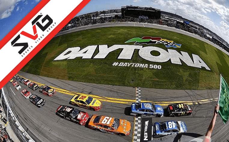 Daytona Fox Sports SVG
