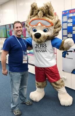 2018 World Cup Mascot