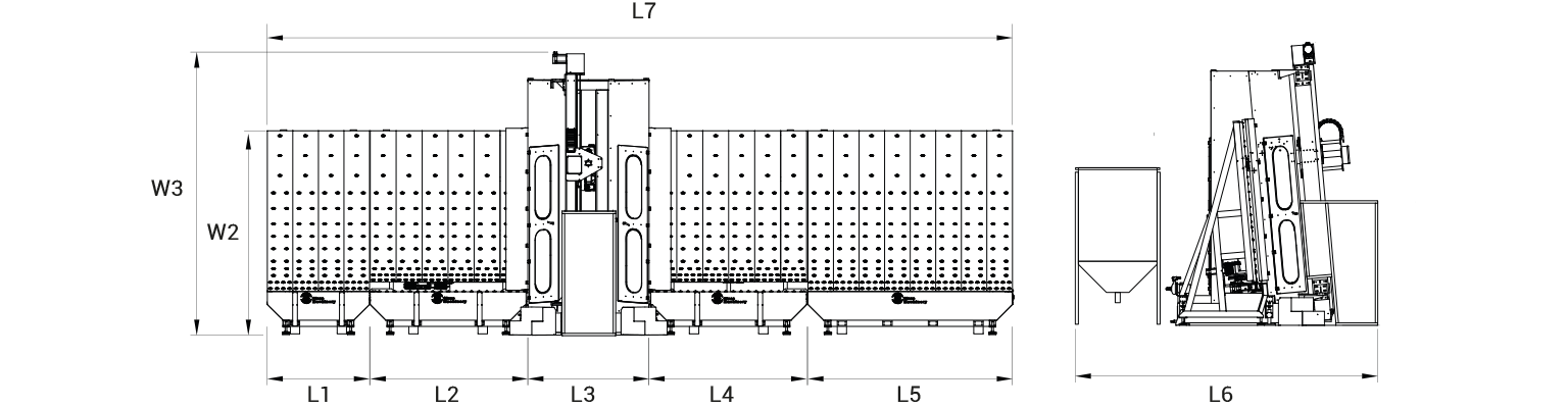 DZH-cnc-vertical-glass-arrising-machine-Layout