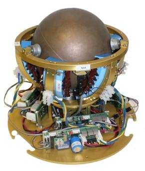 spherical induction motor