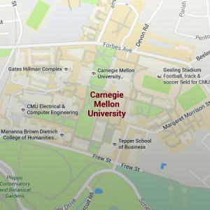 Maps  Parking and Transportation   CMU   Carnegie Mellon University Google Map