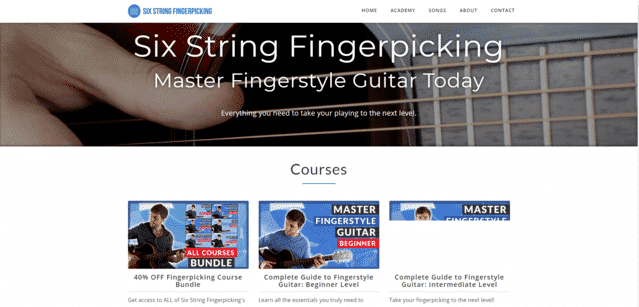 14 Websites To Learn Fingerstyle Guitar Lessons Online ...