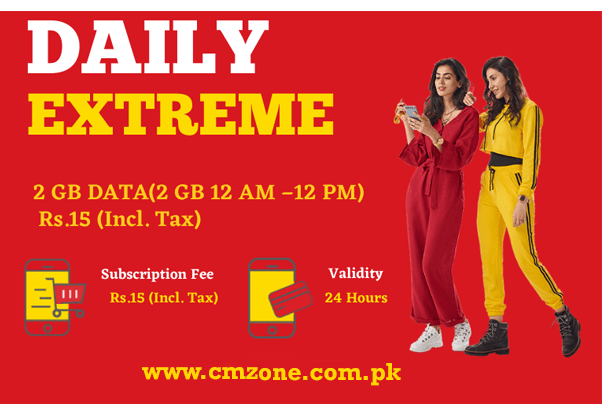Jazz New Package - Jazz Daily Extreme Offer