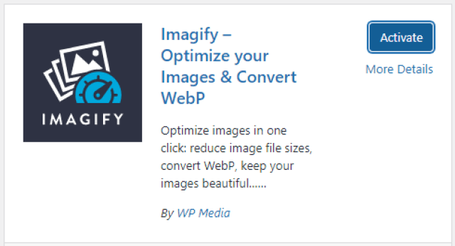 IMAGIFY - How to Improve PageSpeed on my WordPress Site