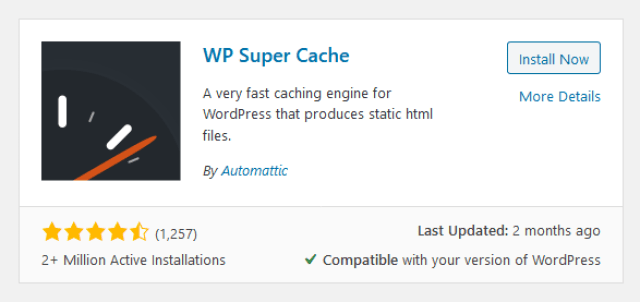 WP Super Cache - How to Improve PageSpeed on my WordPress Site