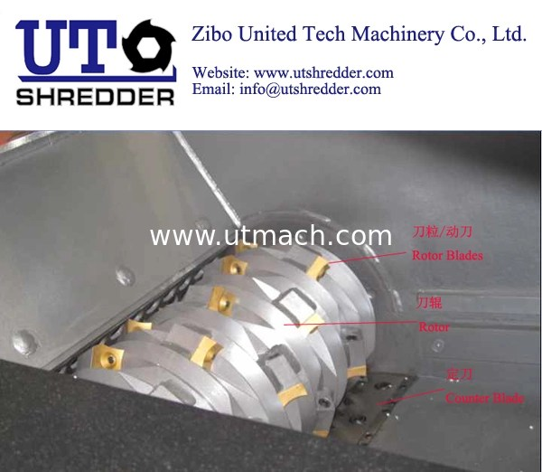 Kitchen Waste Shredder Machine