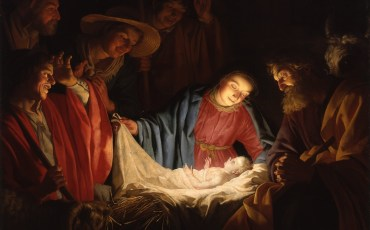 Foto: Gerard van Honthorst, Poklon pastira