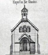 Gacko - projekt za crkvu 1908.
