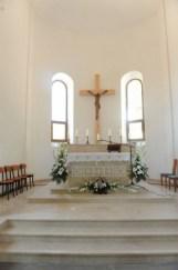 Nevesinje - oltarni prostor Župne crkve u izgradnji