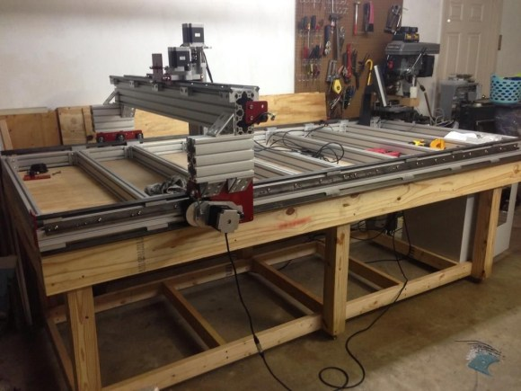 Used cnc router parts