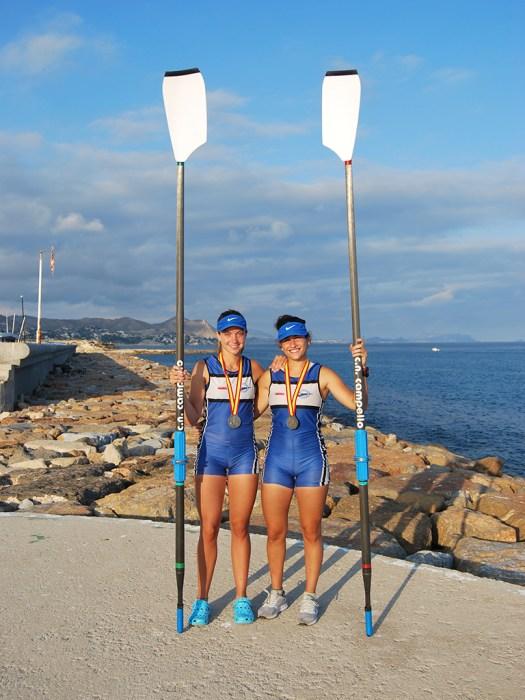 Nadia Felipe y Ainoha Casanova - Remo de Mar Club Náutico Campello