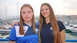 Viktoria Yarchevska y Zofia Samorodna
