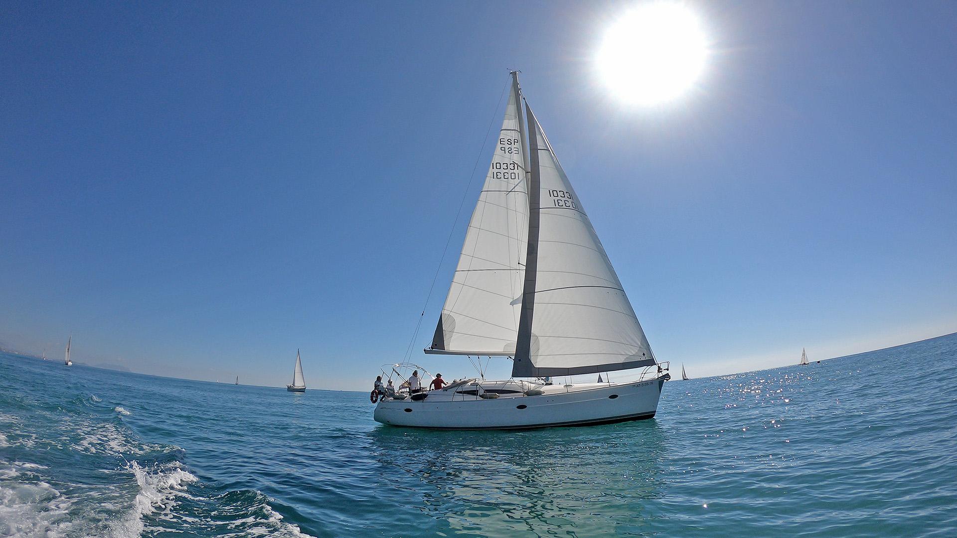 Liga Primer Semestre de Vela Crucero . Club Náutico Campello