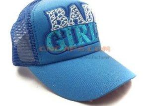 rhinestone on baseball cap
