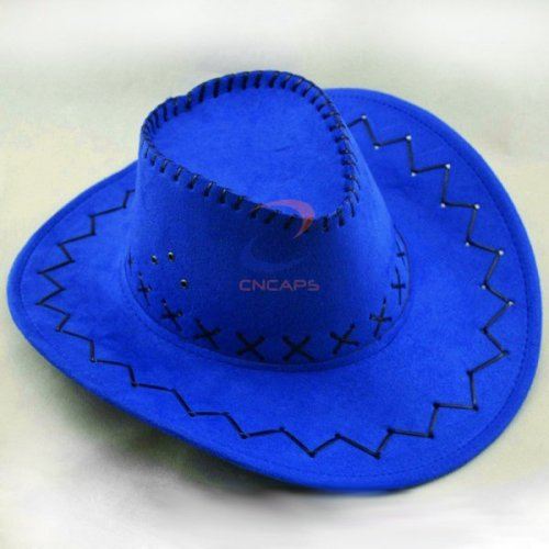 suede leather cowboy hat