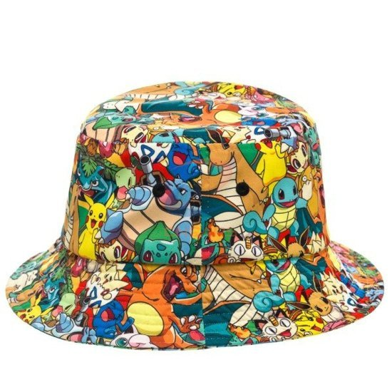 cartoon bucket hat