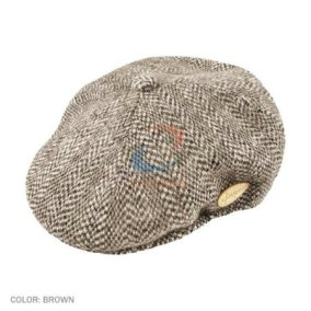 sewing plate on flat cap