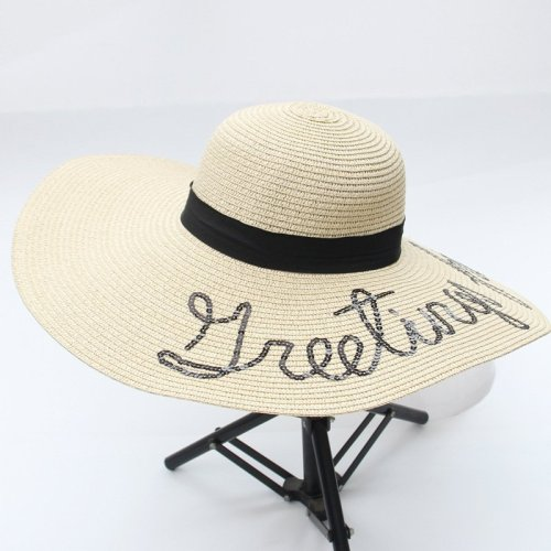 lady straw hat