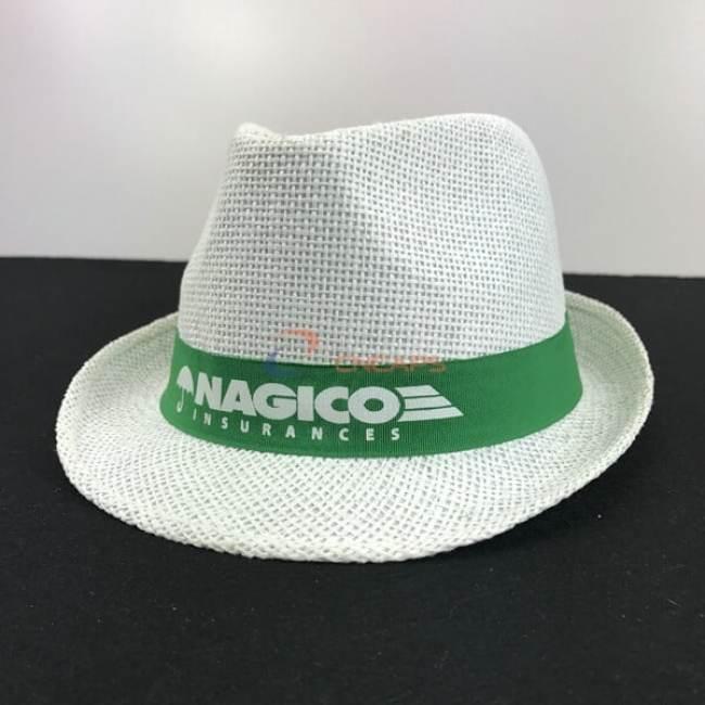 custom print straw hat