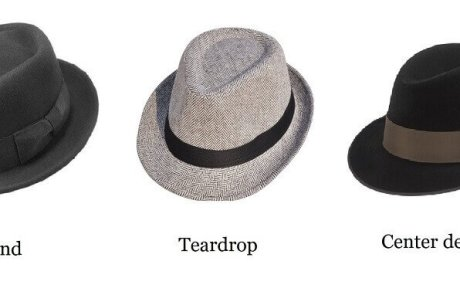 Fedora Panama crown types