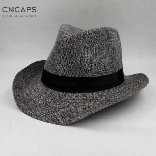 western cowboy hat grey color