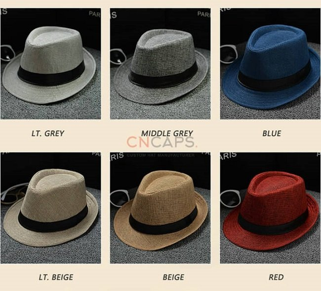 fedora hat assorted